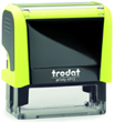 4913YN - Trodat Printy 4913 Neon Yellow Self-Inking Stamp