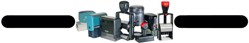 Stamps By Brand - Trodat self-inking stamps and daters plus other brands available.