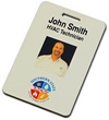 "NBP2 - Digital 2""x3"" Multi-Color Name Badge w/ Double Sided Photo"